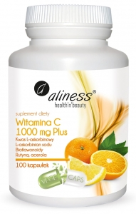 ALINESS Witamina C 1000 mg PLUS 100 kaps.