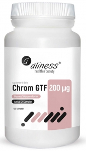 ALINESS Chrom GTF Active Cr-Complex 200 µg 100 tab.