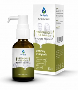 AVITALE Tokotrienole Full Spectrum Naturalna Witamina E 30 ml